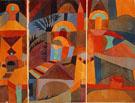 Paul Klee : Temple Garden 1920 : $356
