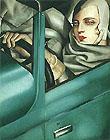 Tamara de Lempicka : Autoportrait : $369