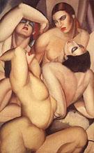 Tamara de Lempicka : Four Nudes : $369