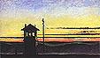Edward Hopper : Rail Road Sunset 1929 : $369