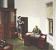 Edward Hopper : Office at Night 1940 : $365