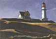Edward Hopper : Light House Hill 1927 : $365