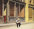 Edward Hopper : Early Sunday Morning 1930 : $345