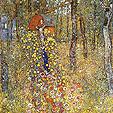 Gustav Klimt : Farm Garden With Crucifix : $355