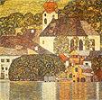 Gustav Klimt : Church in Uterach 1916 : $359