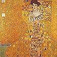 Gustav Klimt : Adele Bloche Bauer Portrait : $379