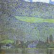 Gustav Klimt : Unterach on the Attersee : $379