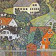 Gustav Klimt : House in Uterach on the Attersee 1916 : $345