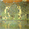 Gustav Klimt : Schloss Kammer on the Attersee 3 1910 : $355