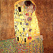 Gustav Klimt : The Kiss 1907 : $379