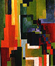 August Macke : Coloured Forms II 1913 : $335