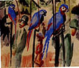 August Macke : Visiting the Parrots 1914 : $365