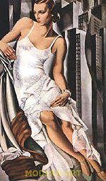 Tamara de Lempicka : Portrait of Mrs. Alan Bott 1930 : $399