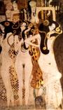 Gustav Klimt : Hostile Forces  Detail 1902 : $399