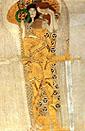 Gustav Klimt : Yearning for Happiness Detail 1902 : $379